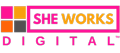 SHE WORKS DIGITAL Logo