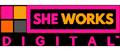 SHE WORKS DIGITAL Logo